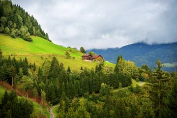 Alm mit Hütte (Österreich)
