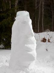 snow Moai