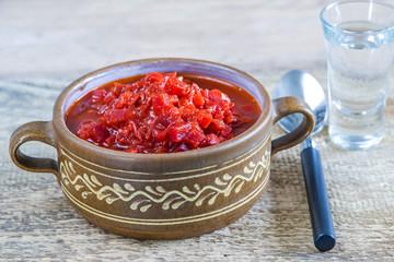 Borschtsch, russische Suppe