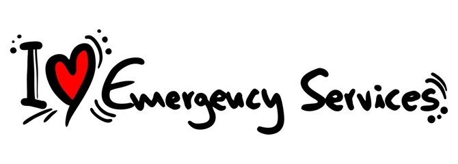Emergency services love