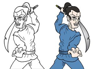 Draw ninja