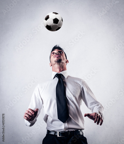 footballer businessman