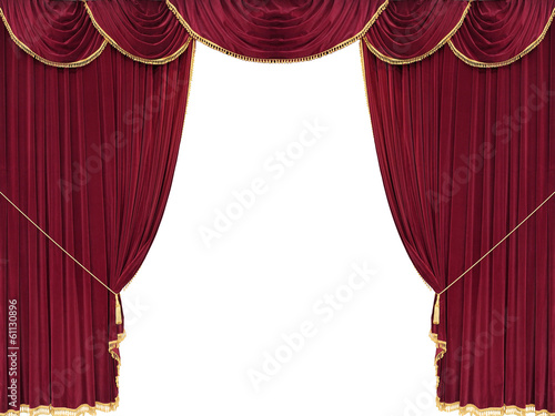 Drop curtain
