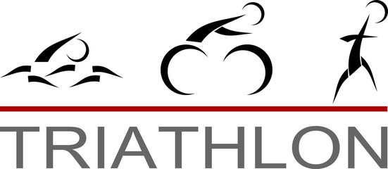 Triathlon pictogram