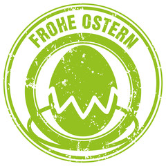 Frohe Ostern - Stempel