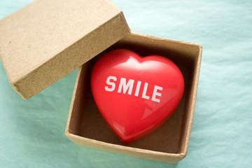smile in a box