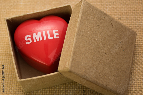 smile in a box