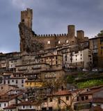 Medieval castle of Frias.Burgos,Spain. poster