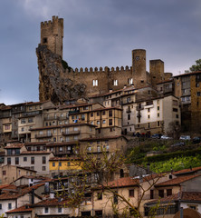 Medieval castle of Frias.Burgos,Spain.
