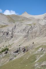 Le Mont Pelat (3050 m), dans le Mercantour