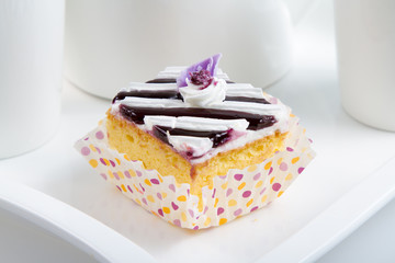 Blueberry Jelly Cake