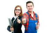 Apprentices for handyman and office