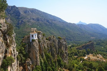 Castillo de Alcozaiba  and Bell Tower in Guadalest