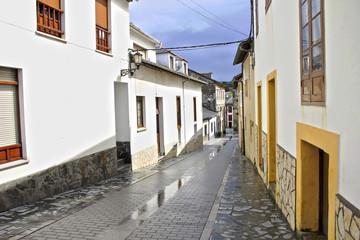 Calles de un pueblo