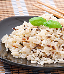 Mixed boiled rice