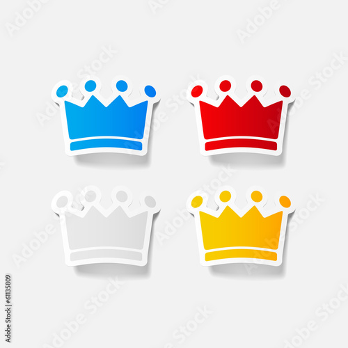 crown sticker