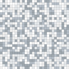 Abstract mosaic background consisting of squares