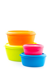 Food plastic container