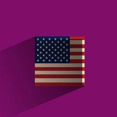 America. Vector format