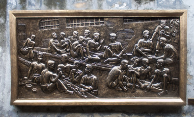 Relief of Vietnamese prisoners at Hoa Lo Prison- Hanoi, Vietnam