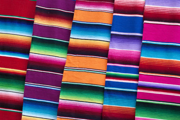 Colored fabrics, Mexico