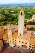 Medieval towers of San Gimignano, Tuscany, Italy