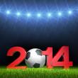 3D - Football - 2014 (IV)