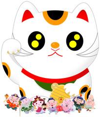 七福神招き猫