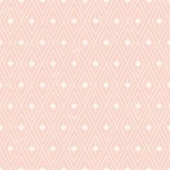 seamless pale pink geometric pattern