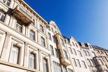historische Hausfassaden in Bonn