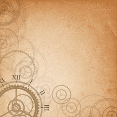 Abstract retro technology background. Vector illustration