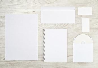Corporate identity templates