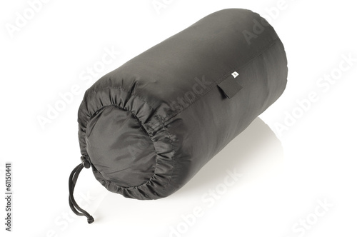 Packed sleeping bag