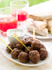 Minced meat ball