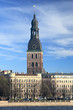 Scenic view of Dome cathedral, Riga (Latvia)