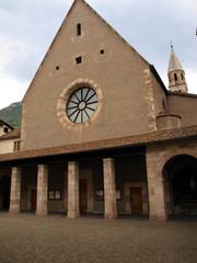 Convent and St. Francis Church Street Franciscans, Bolzano