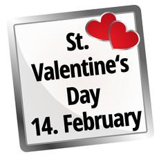 14. February Saint Valentine`s Day
