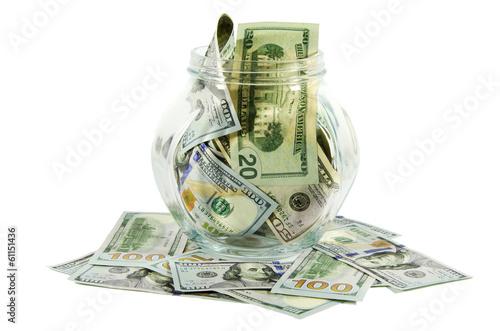 Банка долларов