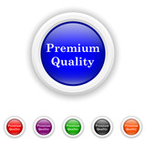 Premium quality icon - six colours set vector