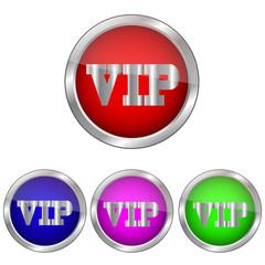 векторная кнопка VIP