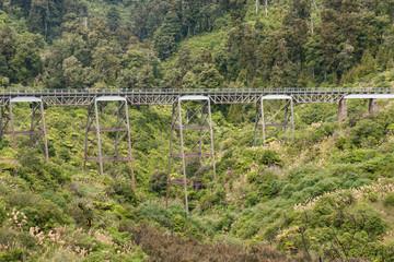historic viaduct near Ohakune in Tongariro National Park