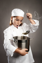 little chef cooking