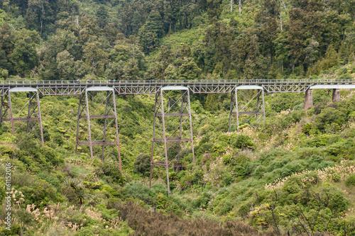 historic viaduct near Ohakune in Tongariro National Park