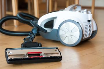 Vacuum cleaner on the floor