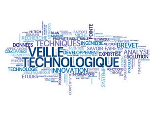 """Nuage de Tags """"VEILLE TECHNOLOGIQUE"""" (techniques innovations)"""