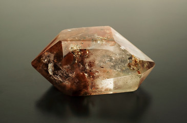 a quartz crystal