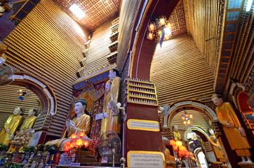 Thambuddhei Paya in Monywa,Myanmar