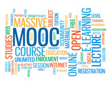 """MOOC"" Tag Cloud (web massive online open course e-learning)"