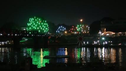 River Kwai Festival,Kanchanaburii