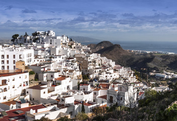 Mojacar Village. Almeria, Andalusia, Spain